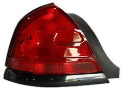 TYC 11-5372-91 Ford Crown Victoria Driver Side Replacement Tail Light Assembly