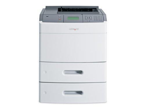 (T652DTN Mono Laser Printer 50 Ppm Duplex Network & USB (Certified Refurbished))
