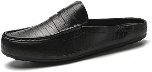 ローファー メンズ 春夏 軽量 スリッポン スリッパ かかとなしシューズ ミュール サンダル スニーカー おしゃれ カジュアル 履きやすい 靴 身長アップ 通気性 日常 ビジネス オフィスサンダル 事務所 革靴