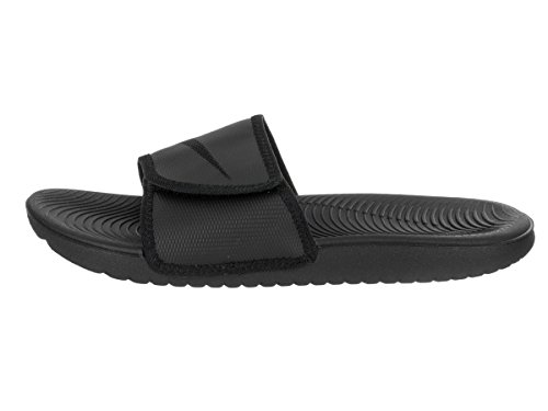 NIKE Mens Kawa Adjust Black/Black Sandal 13 Men US