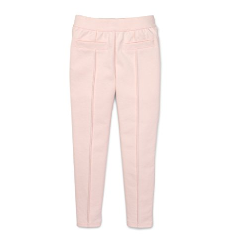 (Hope & Henry Girls' Soft Pink Ponte Pant Size 12)