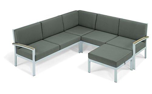 Oxford Garden Designs Travira 4-Piece Loveseat Chat Set -...