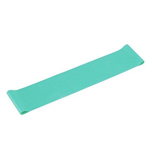 Bande de résistance de haute densité pour Fitness exercice en maison couleur bleu -