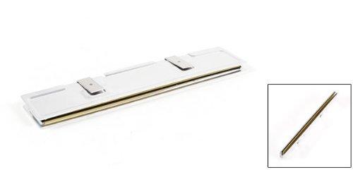 uxcell Silver Tone Aluminum Heatsink Shim Spreader Cooling for DDR DDR2 DDR3 RAM Memory