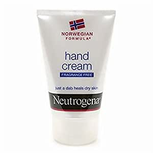 Neutrogena Norwegian Formula Hand Cream, Fragrance Free 2 oz (56 g)