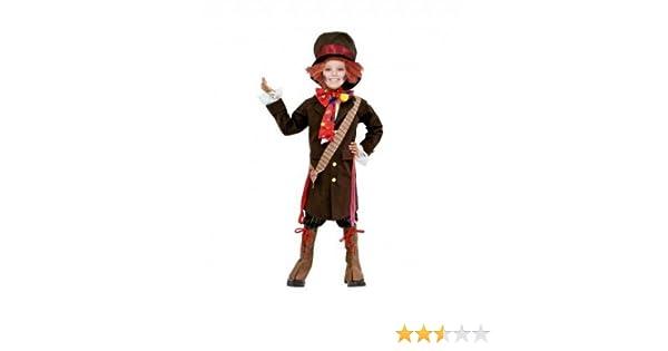 Partilandia Disfraz Sombrerero para niño(7-9 años): Amazon.es ...