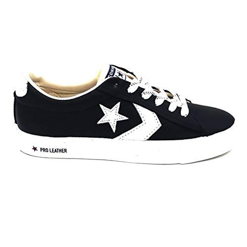 Nero Sneakers Bianco 164040c 41 Vulc Converse Leather Nero O Pro 6q1q4