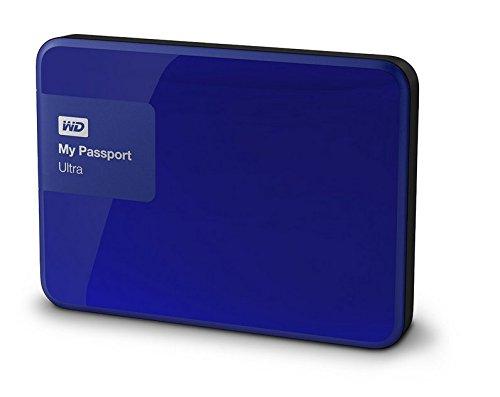 947 opinioni per WD WDBBKD0020BBL-EESN My Passport Ultra- Hard Disk Esterno Portatile, USB 3.0, 2