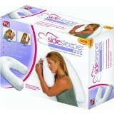 Side Sleeper Pro Neck and Back Pillow with Cover