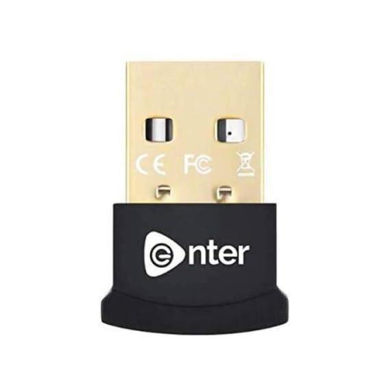 Richvolt Nano USB Bluetooth 5.0 Adapter for PC Laptop Desktop Computer, Long Range Bluetooth Dongle/Receiver for Windows