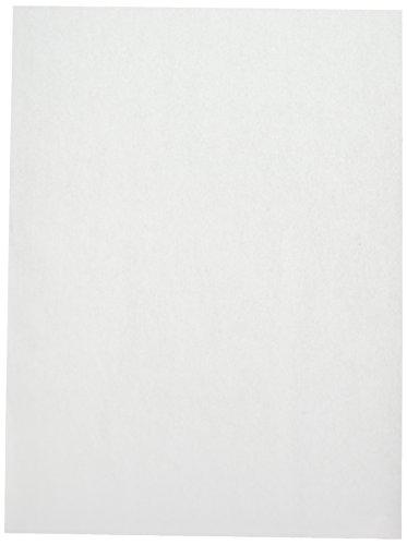 2dayShip Premium Quilon Parchmet Paper Baking Sheets, Pan liner, White, 12 X 16, 200 Count by CucinaPrime