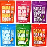 Enlightened Bada Bean Bada Boom Crunchy Broad Beans 3 oz - 6 Bags (BADA BEAN VARIETY 3oz 6PK) ()