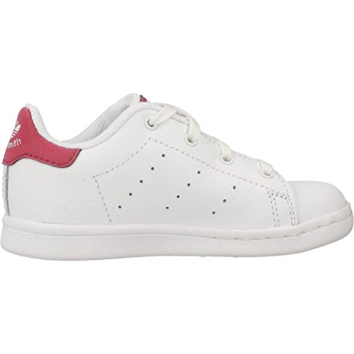 adidas Stan Smith I, Zapatillas de Deporte Unisex Niños Blanco (Ftwbla/Ftwbla/Ftwbla 000)