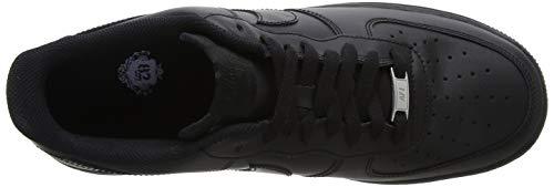 Nike Baskets 1 '07 Air black Noir Force Femme gxnrZxI