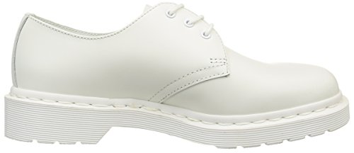 Dr. Martens1461 MONO Smooth WHITE - zapatos derby Unisex adulto Blanco - blanco
