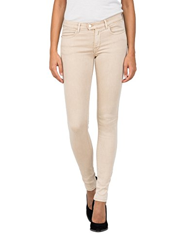 REPLAY Touch, Jeans para Mujer Beige (Sand 267)