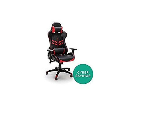 314wmG7NJyL - Racing Style Gaming Chair, Red