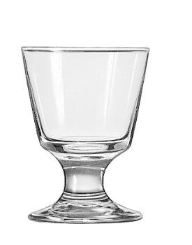 (Embassy Footed Drink Glasses, Rocks, 5.5oz, 4 1/8