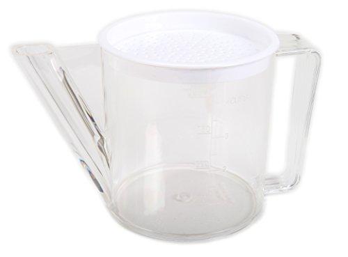 - BIA Cordon Bleu Gravy Separator with Strainer - 4 Cups - Fat Separator
