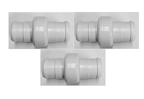 3 Pack Pool Hose Ball Bearing Swivel Replacement For 360 Pool Cleaner 9-100-3002
