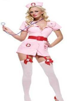 Naughty head nurse