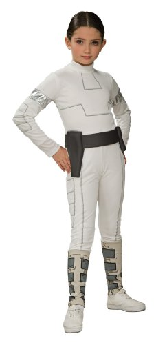 Star Wars Child's Padme Amidala Costume, Medium - Star Wars Padme Blaster