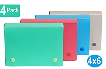 Amazon.com: 1InTheOffice - Funda para tarjetas de índice, 4 ...