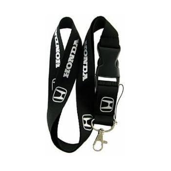 Honda Keychain Lanyard (Black Honda)  (Black)