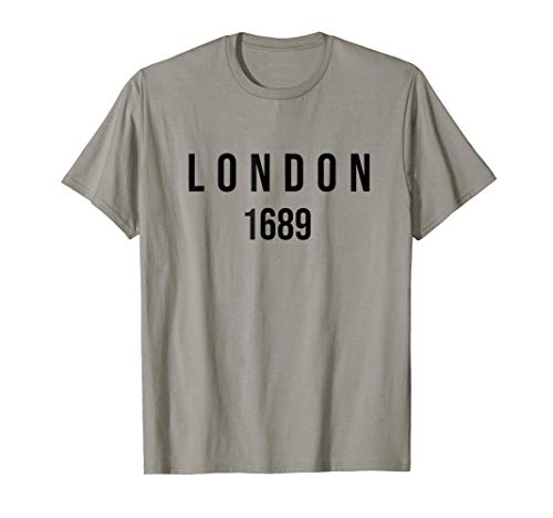 London 1689 Reformed Baptist T-shirt (Apparel)