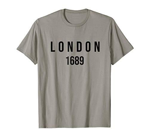 London 1689 Reformed Baptist T-shirt (Apparel)