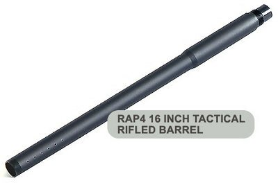 16 Inch Raptor Tactical Rifled Barrel Type E Paintball Game Accessory (16