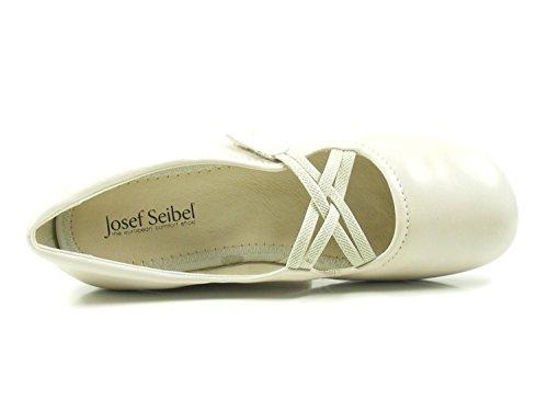Josef Seibel Fiona 39, Bailarinas con Punta Cerrada Para Mujer Beige (Creme)