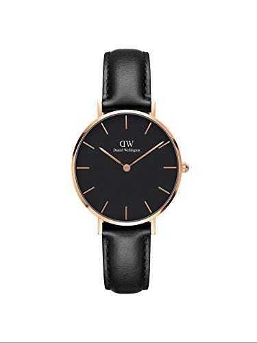 Daniel Wellington Women's Analogue Quartz Watch with Leather Strap DW00100168