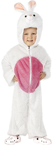 Uk Themed Party Costumes (Smiffy's Bunny Costume, White, Small)