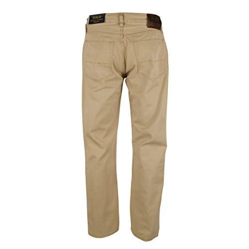 38d34d8c9530 lovely Polo Ralph Lauren Men s Five Pocket Straight Fit Chino Pants -BT-34Wx32L
