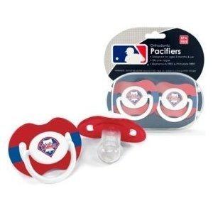 Philadelphia Phillies Pacifier Set - 2 pack