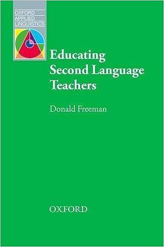 Download PDF Educating Second Language Teachers