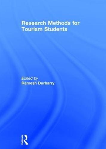 Research Methods for Tourism Students: Amazon.es: Durbarry, Ramesh: Libros en idiomas extranjeros