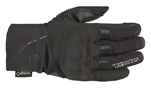 Gore Tex Motorcycle Gloves - Winter Surfer Gore-Tex Waterproof Motorcycle Glove with Gore-Grip Technology (Small, Black Anthracite)