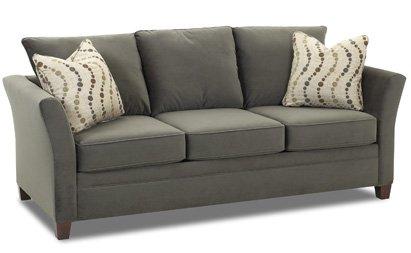 Amazon.com: Murano Reina Sleeper sofá en belsire peltre ...