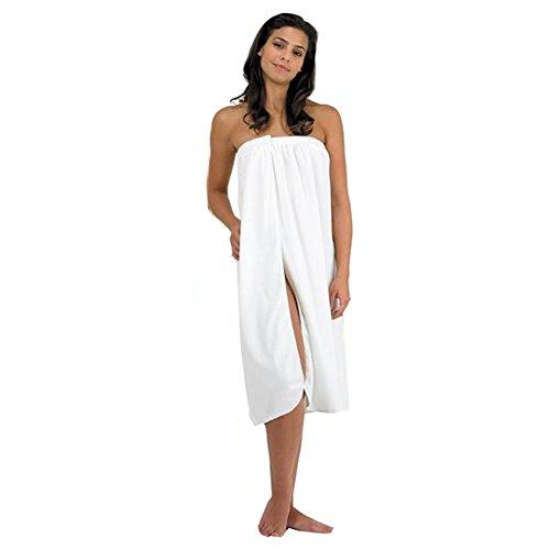 Canyon Rose Cloud 9 Micro Plush Spa Wrap (White) Canyon Cotton Robe