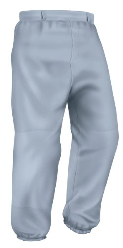 Easton Youth Pro Pull Up Pant, Gray, Small - Easton Pro Pant