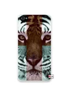 Premium Direct Print Tiger Hipster Cross Quote iphone 6 Quality Hard Snap On Case for iphone 6/Apple iphone 6 - AT&T Sprint Verizon - White Case PLUS Bonus RCGRafix The Best Iphone Business Productivity Apps Review Guide
