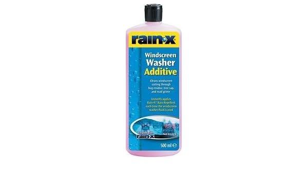 Clarik Rain X - Aditivo hidrófugo para limpiaparabrisas, Rain X 500 ...