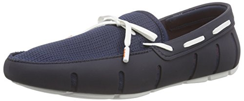 SWIMS Men's Lace Loafer Navy/White 10.5 M