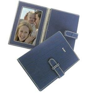 kate spade nyc® BABY navy-blue large canvas trifold - 3x5 -  Kate Spade New York, EH061730/401