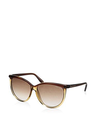 Tom Ford Womens Josephine Polarized Oval Designer Sunglasses - Female Ford Tom