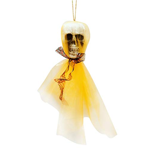 Bone Human - Halloween Hanging Decoration Horror Skull Ornaments Prop Bone Head Home Theme Party Diy - Party Decorations Party Decorations Decor Halloween Skull Bone Human Head Cardboard C ()