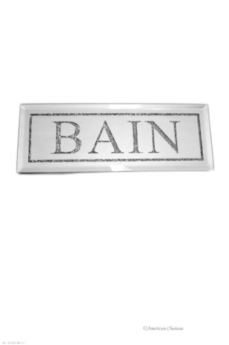 Le Bain Wall Plaque (Bead and Mirror French Bath