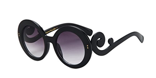 Retro Round Creative Frame All-match Polarized - Baby Dior Sunglasses